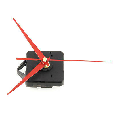 Clock Movement Mechanism Parts Repair DIY Tool with Red Hands Quiet Silence #1