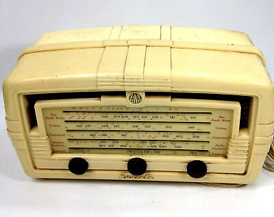 Vintage AWA RADIO Model 449 MA Radiola Working