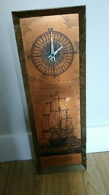 "antique wall clock ""his majeftn's ship London"" National Maritime Museum SONA"