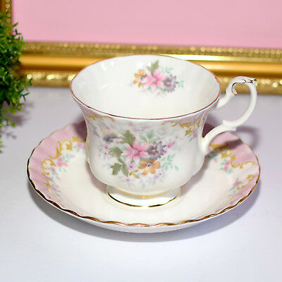* Beautiful Vintage  Royal Albert SERENITY Tea Cup, Saucer, Duo 1st quality