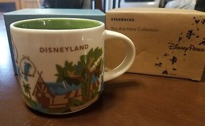 Disneyland Starbucks You Are Here 3rd Edition Mug 2018 Adventureland Adventure