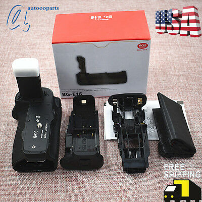 Battery Grip Replacement For Canon EOS BG-E16  7D Mark II US