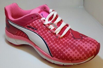 Puma Women's Running Shoes Mobium Elite Speed UK 4 EU37 BNIB PINK / WHITE