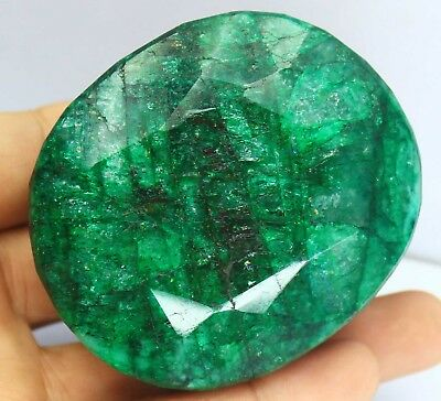 Discounted Sale 1465Ct EGL Certified Natural Green Emerald Loose Gemstone AR292