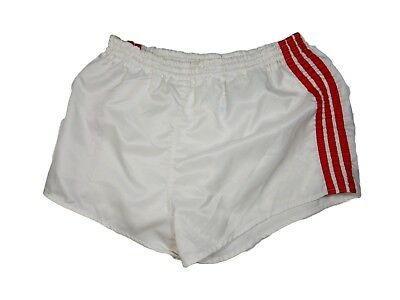 Women's Adidas Vintage Nylon Shorts Sprinter White Red