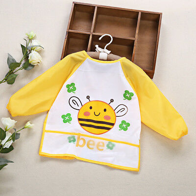 Kids/Children's Bib/Smock for Art,Craft,Painting,Drawing,Eating Size 1-7