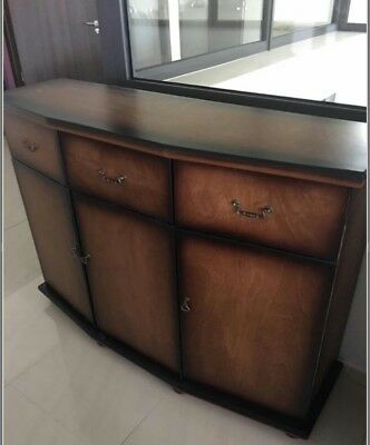 Extra large NEW vintage sideboard cupboard drawers storage living room kitchen