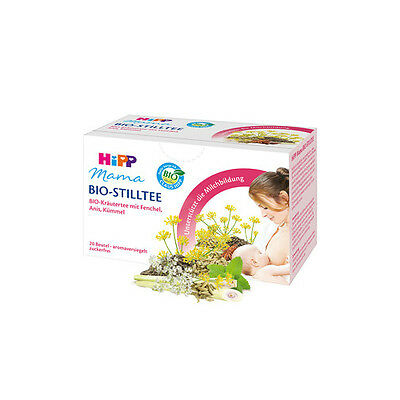 HiPP Organic Tea for Breastfeeding/Nursing Women 20 Teabags. Made in Switzerland