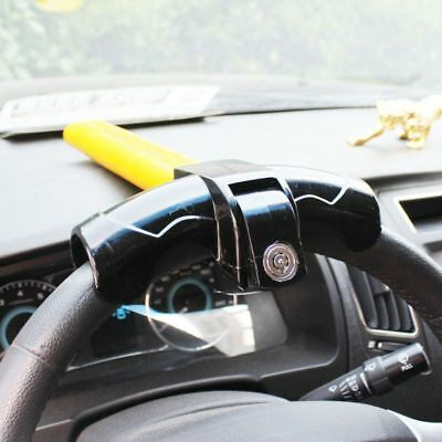 New Heavy Duty Universal Steering Wheel Lock Anti Theft Rotary Security Van Car