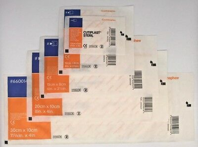 CUTIPLAST STERIL Wound Dressing | ALL SIZES/QUANTITIES | BEST PRICE | UK SELLER