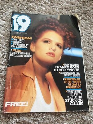 19 fashion magazine May 1984