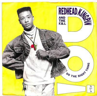 """Redhead Kingpin And The FBI - Do The Right Thing - 7"""" Record Single"""