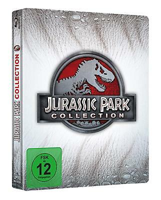 Jurassic Park Collection - Steelbook [Blu-ray] [Limited Edition]  - NEU (1459)