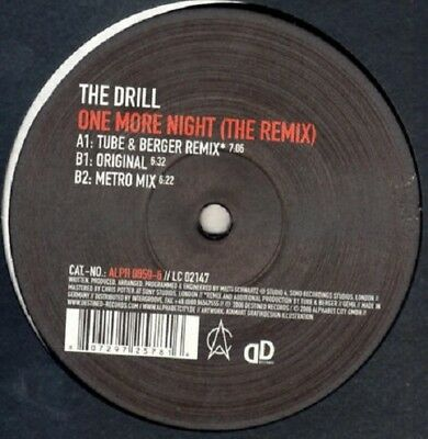 TUBE & BERGER RMX - The Drill – One More Night - STEPHAN BODZIN KNALLER - OXIA