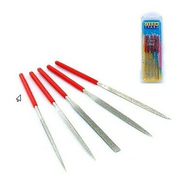 ModelCraft Tools DIAMOND NEEDLE FILES 5 PIECE SET PFL6002