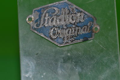 Vintage bicycle - Tablet Logo manufacturer-Stadion original -4667