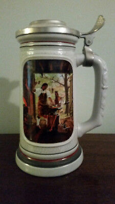 "Avon Product: The Building of America Stein Collection ""The Blacksmith"""