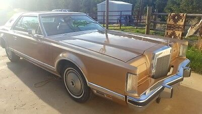 1979 Lincoln Mark Series  1979 lincoln continental mark v