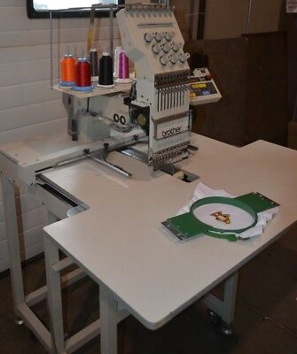 Brother BAS 416 9 Color Industrial Embroidery Machine With USB Drive