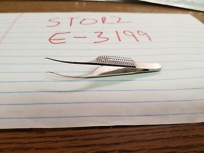 Karl-Storz Opthalmic E 3199 Troutman Barraquer Corneal Utility Forceps great con