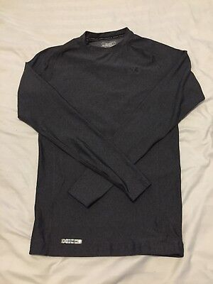 Under Armour Long Sleeve Compression Coldgear Charcoal Size Medium
