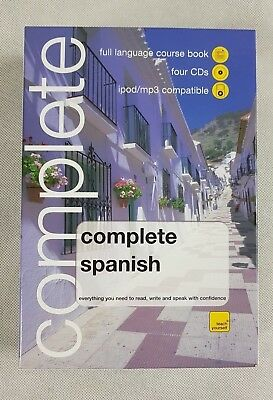 WHSmith Teach Yourself Complete Spanish Book/4 CD Pack, Audio Book