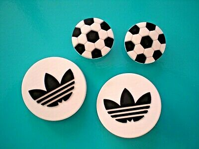 Shoe Button Charm Compatible With Croc Clog Holes WristBand 4 Sports Logo Soccer