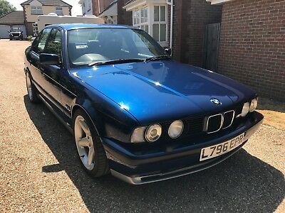 1994 BMW M5 3.8 E34, stunning condition, full history, massive spec, HPI clear,