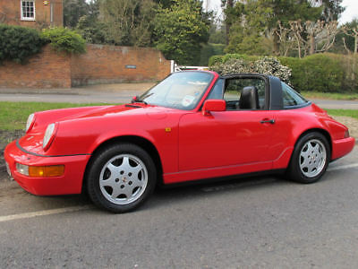 Porsche 964 (911) 1990 Targa Carrera 4 Manual Owned 18y Viewing In Chelsea.