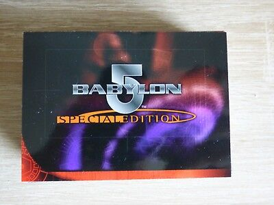 Babylon 5 Special Edition (Skybox 1997) - Complete Base TC Set (72 Cards)