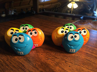 Lot of 2 Vintage Burger King M&M Kids Club Meal Toy