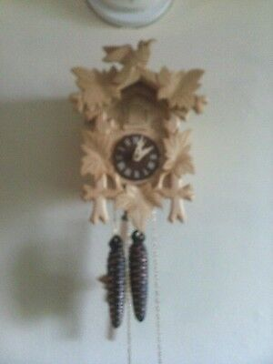 Used Cuckoo Clock: Small 1 Day Germany Working.....