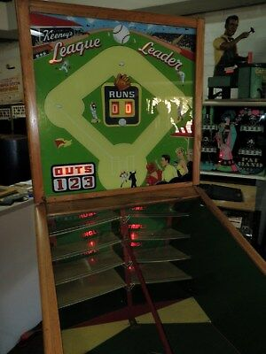 1950's Keeny Leauge Leader Baseball Game............Fun to Play