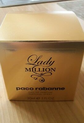 Lady Million von Paco Rabanne Eau de Perfume Spray 30ml für Damen