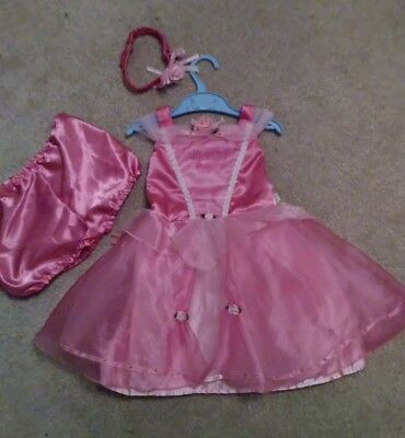 Toddler princess fancy dress 18-24 months