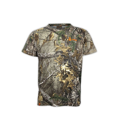 Spika Hunting Trail Realtree Camo Cotton s/s Camo T-Shirt H-100 - Small to 5XL
