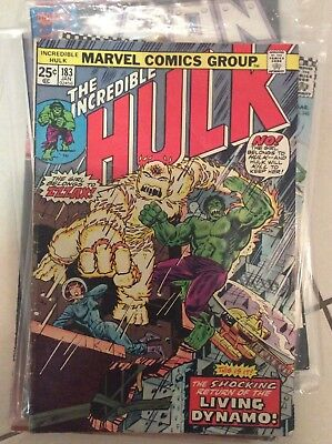 The incredible hulk #183