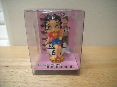 2004 NEW Betty Boop Rte Route 66 Going My Way Antenna Topper Collectible Figure