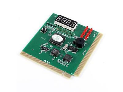 PC Motherboard Diagnostic Card 4-Digit PCI/ISA POST Code Analyzer