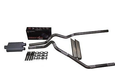 Cherry Bomb Extreme Dual Truck Exhaust Kit Chrome Tips for /'94-03 Ford F150 F250