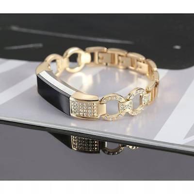 Diamond Stainless Steel Replacement Smart Watch Band Strap For Fitbit Alta HR