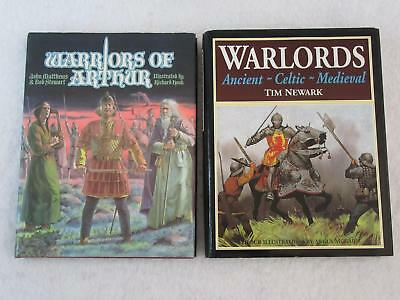 Lot of 2 WARRIORS OF ARTHUR & WARLORDS ANCIENT-CELTIC-MEDIEVAL Battle Gear 1987