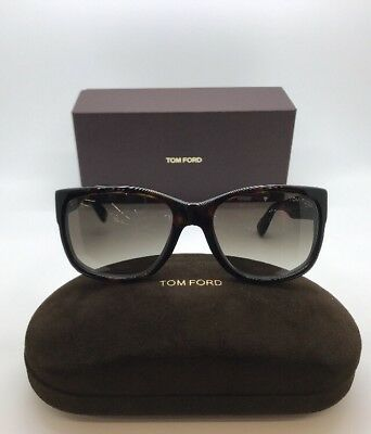 d1257217267 TOM FORD CARSON Tf441 01A Grey Black Square Rectangular Style ...