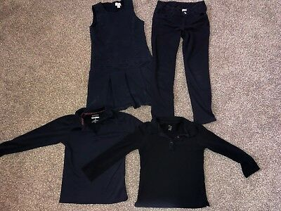 Girls Uniform Lot Size 8 And 7/8 French Toast Childrens Place