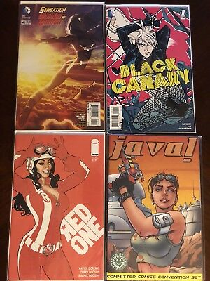 Woman comic lot - Wonder Woman, Batgirl, Jokers Daughter, Black Canary and more!