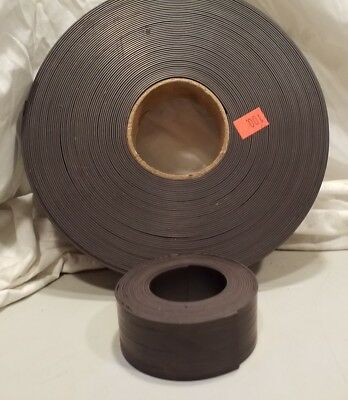 Magnetic Tape, Black, 1.5in wide .060 thick 5ft