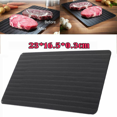 23x16x0.3CM Defrosting Tray Meat Thaw Thawing Miracle Frozen Food Defrost Fast