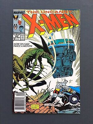 VF/NM Unpressed, Short-Print / #233 The Uncanny X-Men / 1988 Newsstand