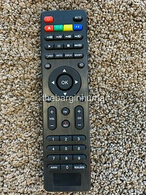 LED LCD HD TV Remote for listed LINDEN TV Models - No setup required