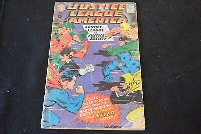 Justice League of America #56 (1967, DC) Justice League vs. Justice Society